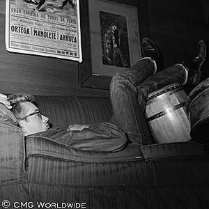 James and his bongos