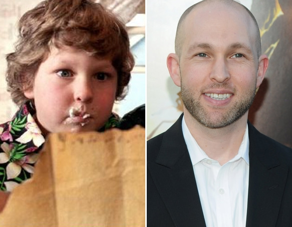 "Jeff Cohen as ""Chunk"""