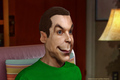 Jim Parsons caricature