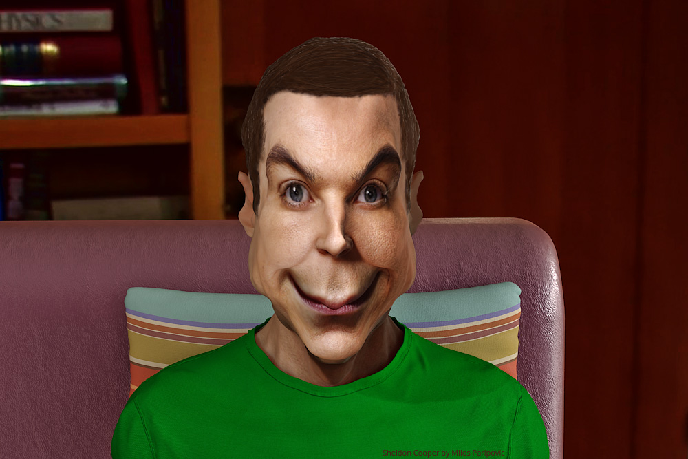 sheldon cooper images jim parsons caricature hd wallpaper and