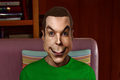 Jim Parsons caricature - sheldon-cooper fan art