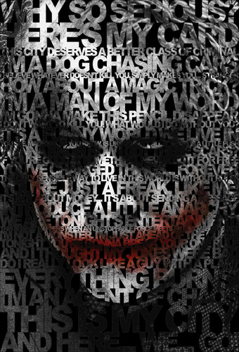 The Joker wallpaper titled Joker's Quotes Poster