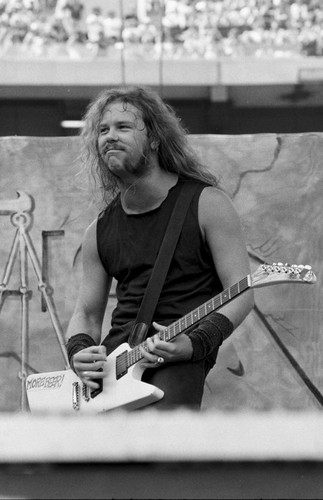 James Hetfield fond d'écran titled 1988