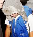 Justin arriving at LAX Airport :) - justin-bieber photo