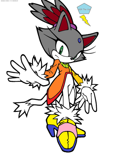 K29 playing as blaze! - blaze-the-cat Fan Art