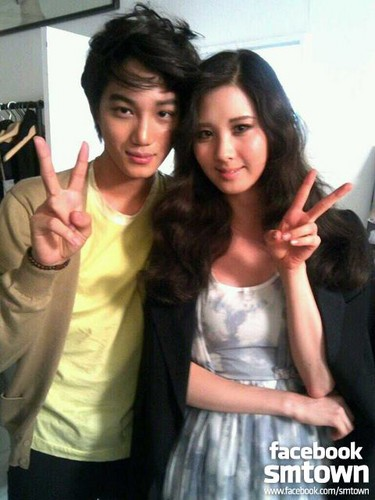 KAI & SEOHYUN - exo Photo