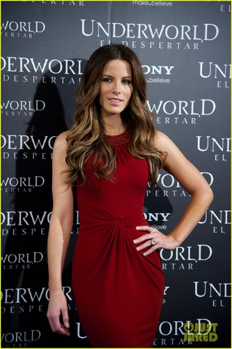 Kate Beckinsale: 'Underworld: Awakening' Madrid foto Call!