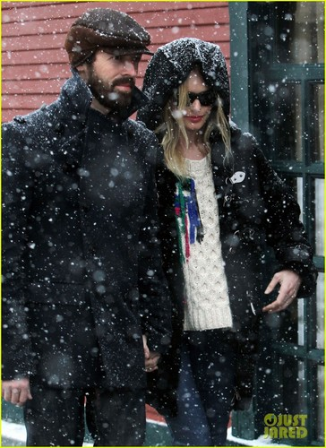 Kate Bosworth & Michael Polish: Snowy Sundance Stroll!