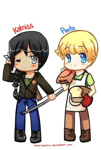 Katniss&Peeta<3