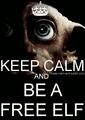 Keep Calm and... - dobby-the-house-elf fan art