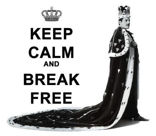 Keep calm ;) - queen Fan Art