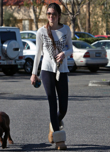 Kendall Jenner out in Calabasas