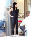 Kendall & Kylie Jenner did some shopping in Malibu, January - kylie-jenner photo