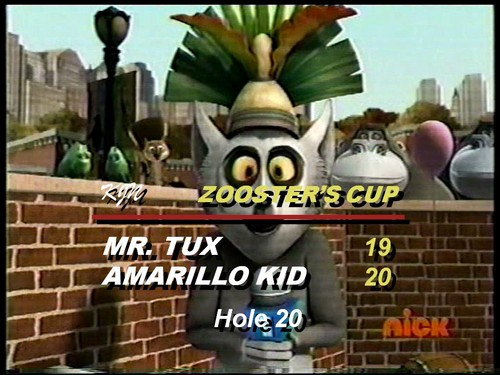 King Julien Network Presents: Zooster's Cup