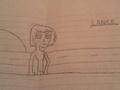 Lance(uncolored) - total-drama-island fan art