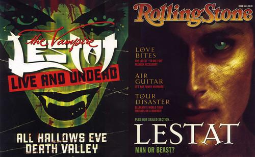 Lestat - Rolling Stone - Back Front
