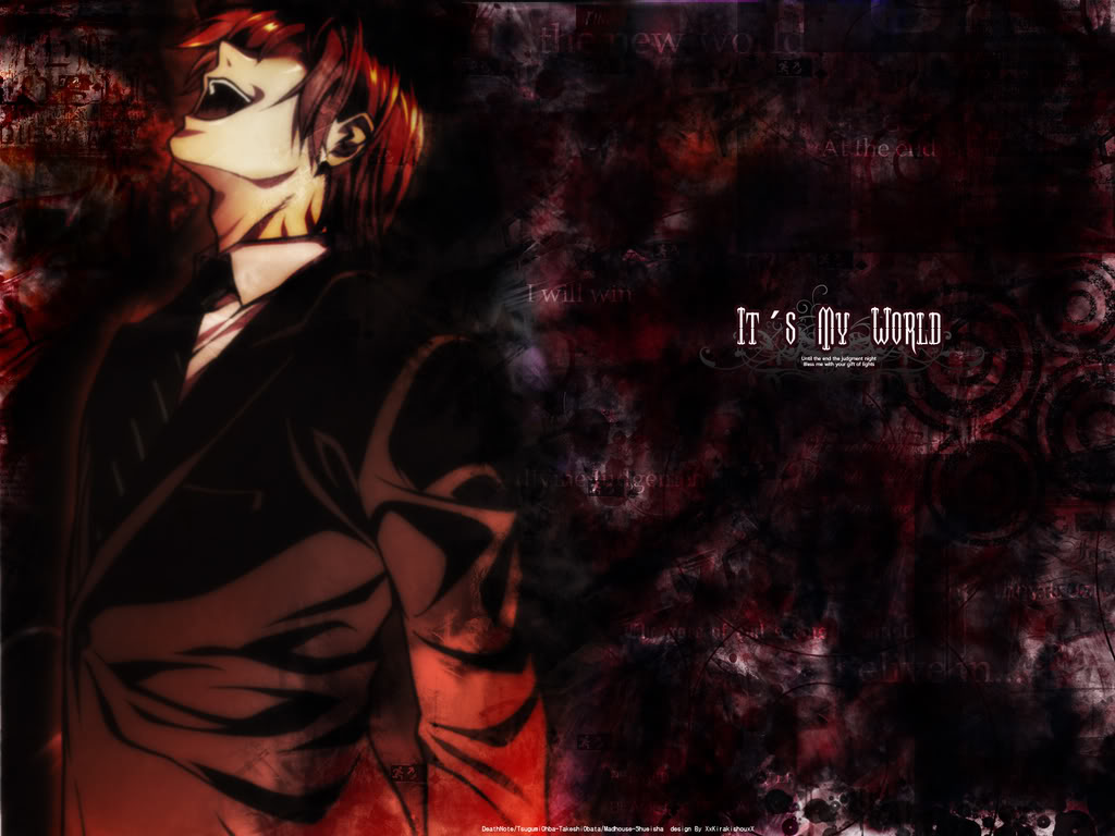 Insane Anime Characters Images Light Yagami Hd Wallpaper And Background Photos