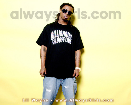Lil' Wayne wallpaper possibly containing a leisure wear, sunglasses, and long trousers titled Lil' Wayne