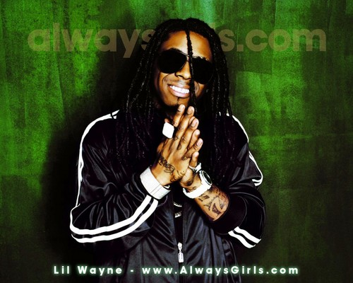 Lil' Wayne kertas dinding containing sunglasses called Lil' Wayne