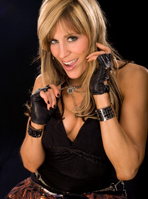 Lilian Garcia پیپر وال containing a hip boot titled Lilian Garcia Photoshoot Flashback