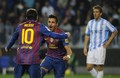 Lionel Messi Hattrick vs Malaga (22 January 2012) La liga - lionel-andres-messi screencap