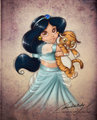 Little Jasmine - little-disney-princesses fan art