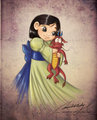 Little Mulan - little-disney-princesses fan art