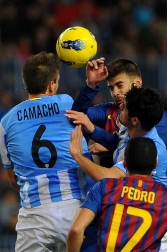 Málaga (1) v FC Barcelona (4) - La Liga