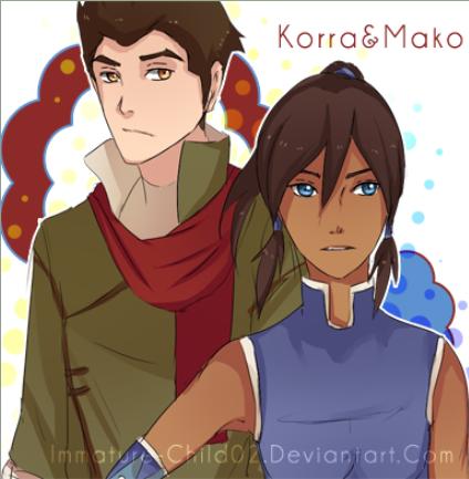 Mako and Korra <3