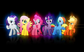 Mane Six Wallpaper