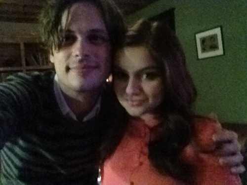 Matthew Gray Gubler and Ariel Winter - matthew-gray-gubler Photo