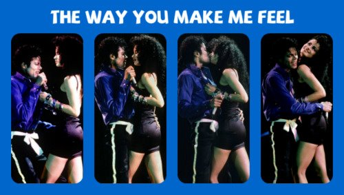 Michael Jackson & Tatiana Yvonne Thumbtzen The Way あなた Make Me Feel BAD Tour