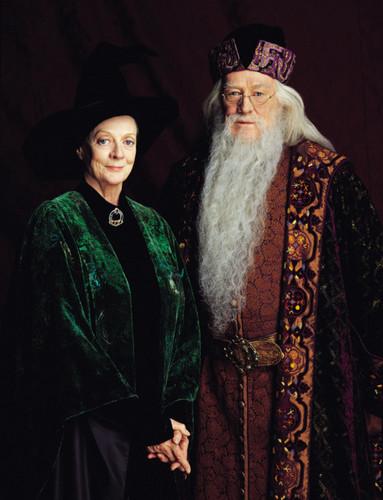 Minerva and Albus Dumbledore