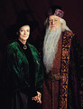 Minerva and Albus Dumbledore