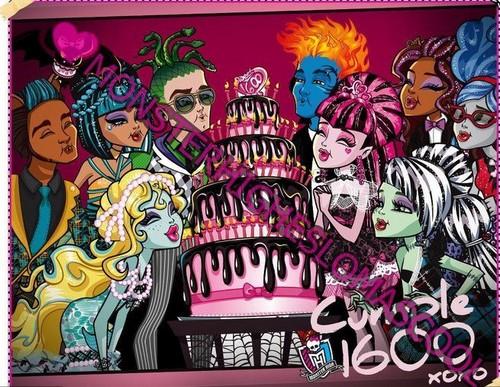 Monster High Sweet 1600 Group