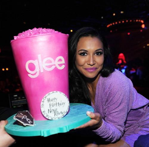 Naya Rivera Celebrates Her Birthday At 1 OAK Las Vegas At The Mirage