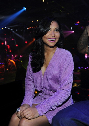 Naya Rivera Celebrates Her Birthday At 1 OAK Las Vegas At The Mirage