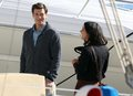 Nick and Shenae on set - pj-and-annie photo