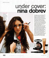 Nina Dobrev - Nylon Magazine Feb Issue fotografia Shoot