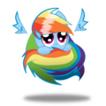 OMGOSH so cute Rainbow Dash!