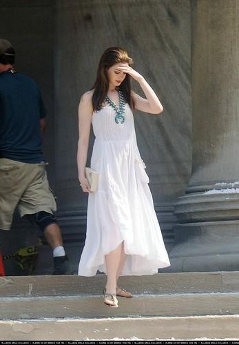"On set of ""The Dark Knight'"