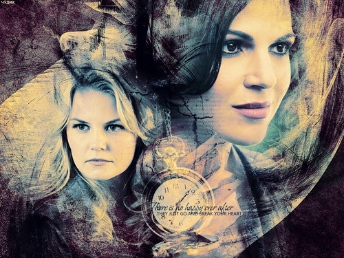 once upon a time wallpaper entitled Emma & Regina