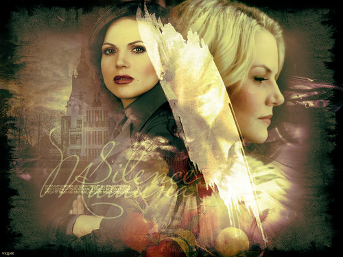 Emma & Regina - once-upon-a-time Wallpaper