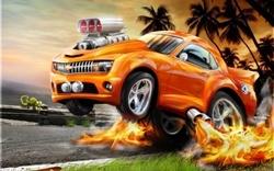 jeruk, orange Car