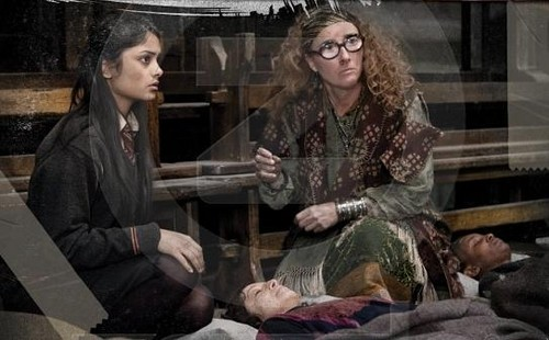 Padma Patil and Sybilla Trelawney