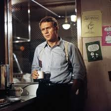 Steve McQueen wallpaper possibly with a o jantar, lanchonete and a brasserie titled papillon