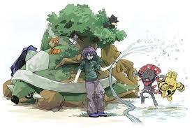 Paul and his pokemon