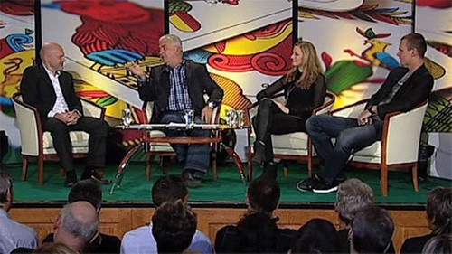 Petra Kvitova and Tomas Berdych in new czech talk show