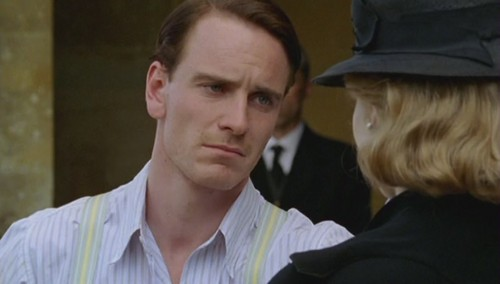 Michael Fassbender wallpaper probably with a business suit entitled Poirot: After The Funeral