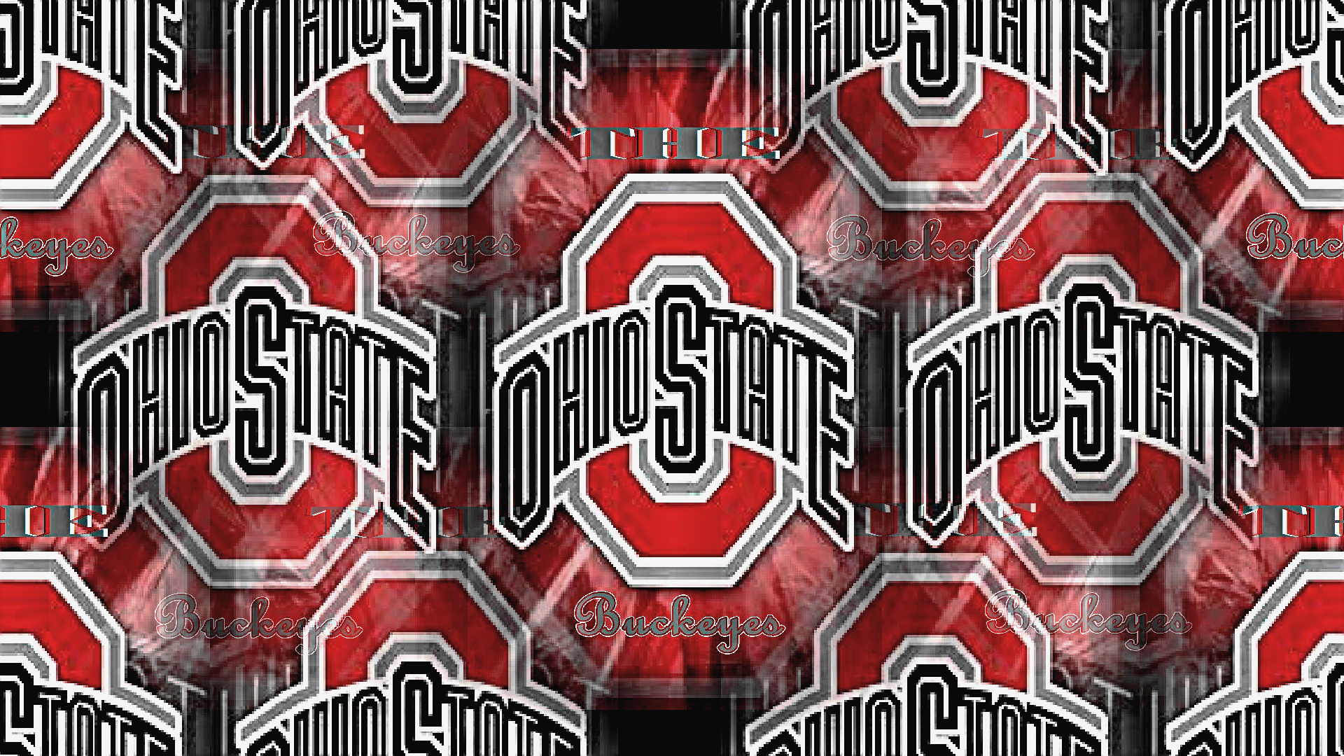 Red Block O Double Layered Ohio State Football Wallpaper 28507164 Fanpop